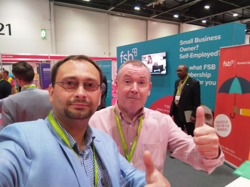 Business in England is only with the support of the FSB